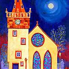 Pittenweem Church by Bridget March