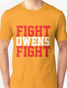 Fight Owens Fight (Red/White) Unisex T-Shirt
