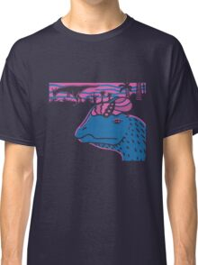 Dilophosaurus Duo - Magenta and Blue Classic T-Shirt