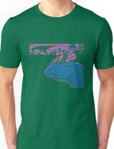 Dilophosaurus Duo - Magenta and Blue T-Shirt