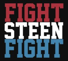 Fight Steen Fight (Red/White/Blue) by KVKVKV