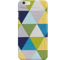 Triangle quilt iPhone Case/Skin