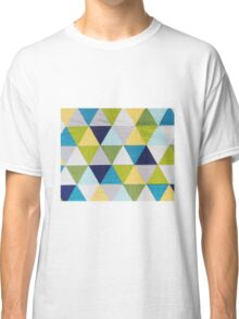 Triangle quilt Classic T-Shirt