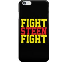 Fight Steen Fight (Red/Yellow) iPhone Case/Skin