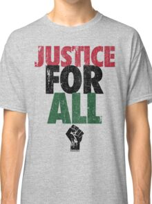 JUSTICE FOR ALL: BLACK LIVES MATTER Classic T-Shirt