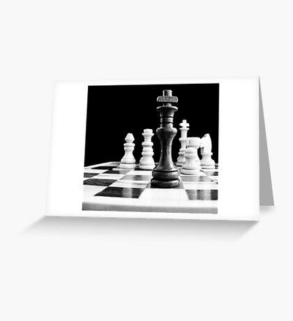 Chess 2 Greeting Card