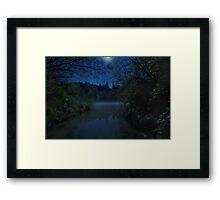 Midnight Mists Framed Print