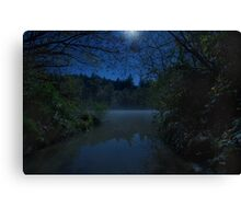 Midnight Mists Canvas Print