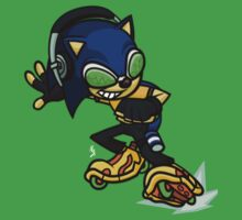 Jet Set Sonic One Piece - Short Sleeve