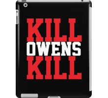 Kill Owens Kill (Red/White) iPad Case/Skin