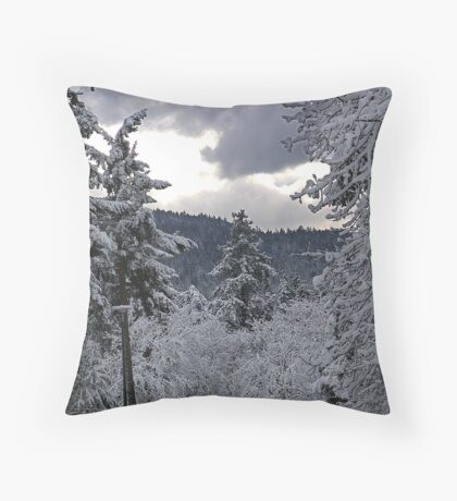 Dawn Comes  Throw Pillow
