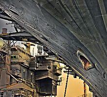 Super structure USS Kitty Hawk by pdsfotoart