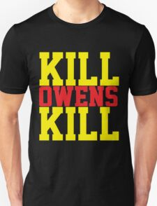 Kill Owens Kill (Red/Yellow) T-Shirt
