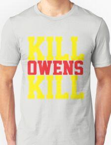 Kill Owens Kill (Red/Yellow) T-Shirt
