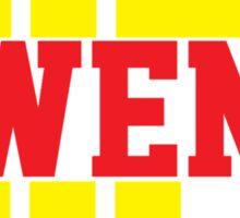 Kill Owens Kill (Red/Yellow) Sticker