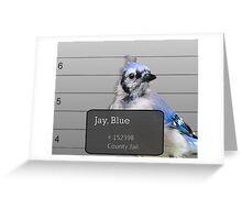 Another Jail Bird Greeting Card
