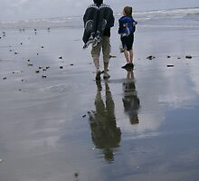Father & Son by essenceoview