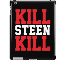 Kill Steen Kill (Red/White) iPad Case/Skin