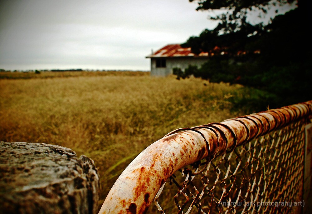Old Gate by Andrew (ark photograhy art)