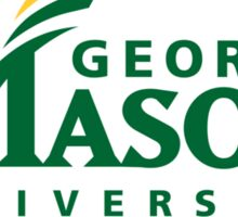 George Mason Sticker