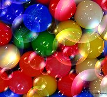 Gumball Bubbles by Debbie Robbins