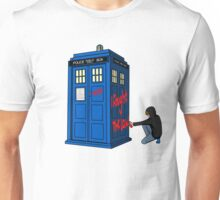 The Doctor Parked His Tardis Down Splott Unisex T-Shirt
