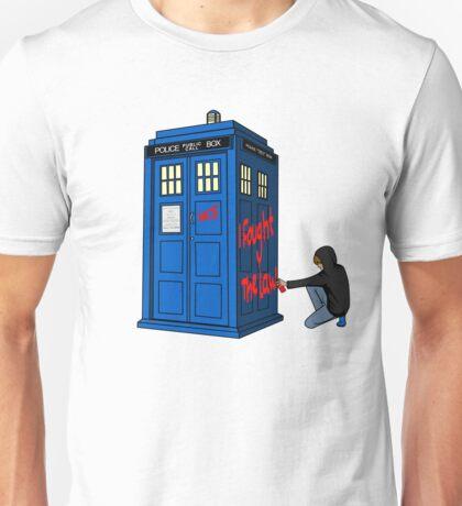 The Doctor Parked His Tardis Down Splott Unisex T-Shirt