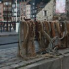 Fishing Nets - Honfleur by Jocelyn Pride