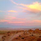 warm sunset by elh52