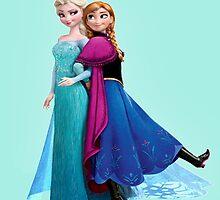Anna & Elsa by pentel