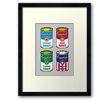 Soup Assemble Framed Print
