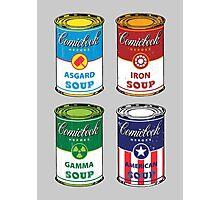 Soup Assemble Photographic Print