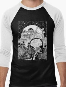Paradox Moon Men's Baseball ¾ T-Shirt