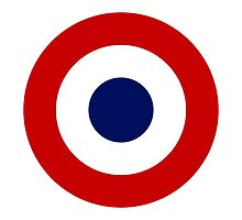 French Air Force - Roundel by wordwidesymbols