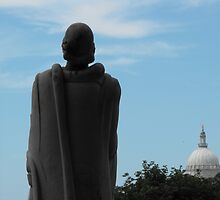 Roger Williams and the State House by endomental Artistry