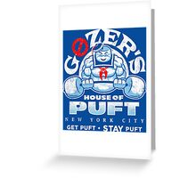 House of Puft Greeting Card