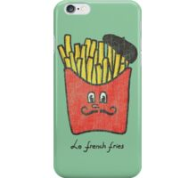 Le French fries iPhone Case/Skin