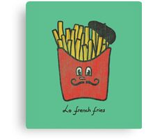 Le French fries Canvas Print