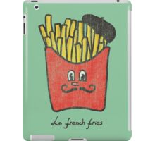 Le French fries iPad Case/Skin