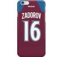 Colorado Avalanche Nikita Zadorov Jersey Back Phone Case iPhone Case/Skin