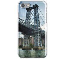 Williamsburg bridge...East River Side, NYC iPhone Case/Skin