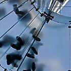 Glass Stairway by Val Goretsky