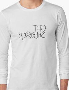 Get Sherl☺ck (Mirror) Long Sleeve T-Shirt