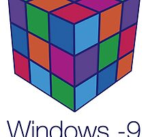 Windows -9 by FREE T-Shirts