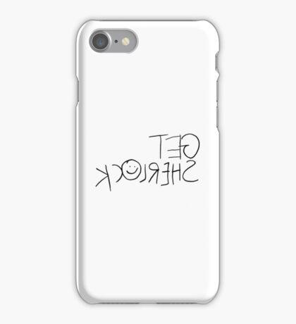 Get Sherl☺ck (Mirror) iPhone Case/Skin