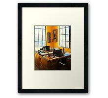 Rail Office Framed Print