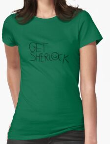Get Sherl☺ck (Forward) Womens Fitted T-Shirt