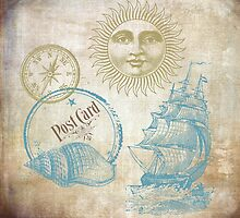 Vintage Sea Theme by VintageArtShop
