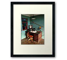 Rail Office 2 Framed Print