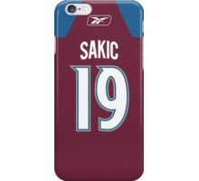 Colorado Avalanche Joe Sakic Jersey Back Phone Case iPhone Case/Skin